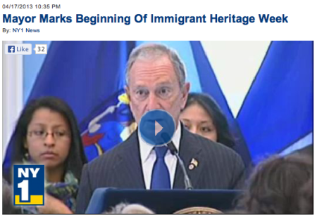 Bloomberg Immigrant week